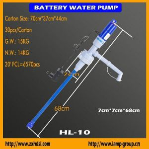 Аккумулятор работает водяной насос (HL-10)