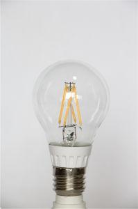 bulbo do diodo emissor de luz do filamento A60 de 4W 450lm Lfl 360degree