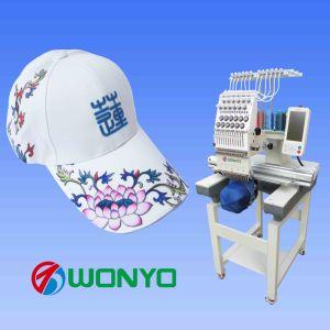 帽子、衣服の刺繍のための単一のヘッド刺繍機械