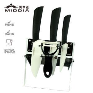 Houseware herramientas manuales para la fruta de cerámica/Santoku/Utilidad Juego de cuchillos