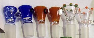 El tabaco de cristal del nuevo color de lujo rueda 14# 19#