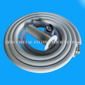 Acondicionador de aire con aislamiento de tubo de cobre con accesorios