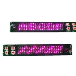 5X25 Résolution lampes Made in China affichage LED d'éclairage flexibles pour les chaussures bandage