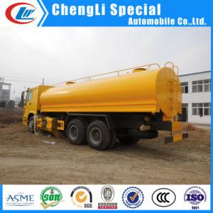 中国の大きい容量HOWO 6X4 20000リットル水タンク車