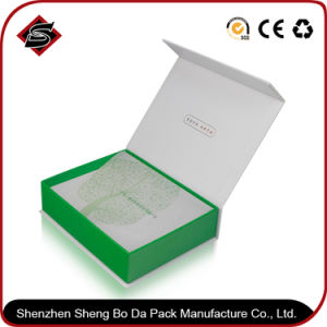 Imán de alta calidad hechos a mano cajas de zapatos de plegado de papel