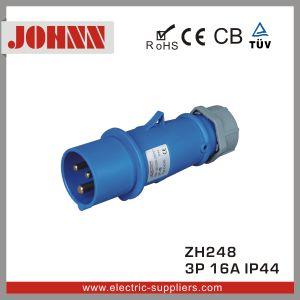 IP44 3p 16A Prise industriel monté en surface