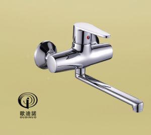 クロムによってめっきされる単一のレバーのシャワーのコック67414