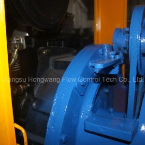 Moteur diesel portable l'irrigation agricole de la station de la pompe centrifuge