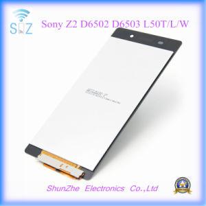 Original y nuevo teléfono móvil inteligente de pantalla LCD táctil de Sony Z2 D6502 D6503 L50T/L/W.