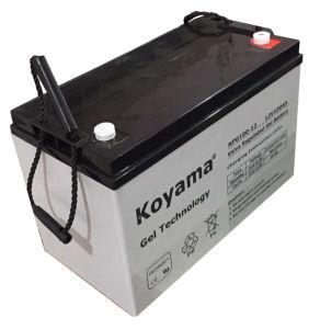 12V100ah弁はゲル電池を調整した