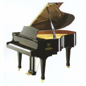 Schumann (GP-168) Piano de piano à queue noire à piano