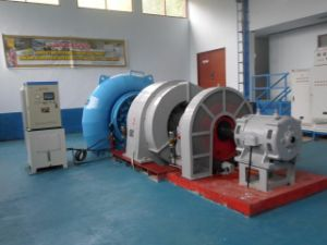 ハイドロ(水)タービン・ジェネレーター屋内Hydroturbine