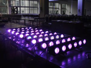 Piscina 6x25W Rgbaw DMX Barra de luz LED bañador de pared