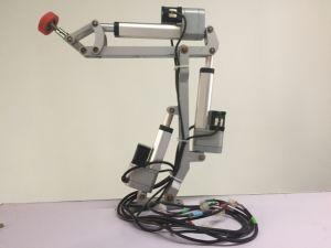 WPCのボードの大理石のボードのアクリルのボードのための自動アームを搭載するプロフィールのためのフルオートマチックの熱い溶解の接着剤のフィルムの薄板になる機械