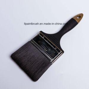 ヨーロッパの総合的なポリエステルブラシ掛け清浄のゴム製ハンドルの絵筆
