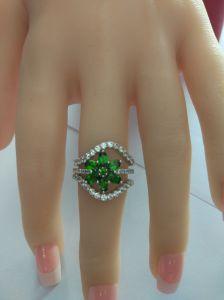 Nieuw Ontwerp 925 Zilveren Manier die Ring met de Prijs van de Fabriek stapelen