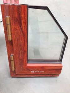 L'espulsione di alluminio di Metarial della costruzione/si è sporta profilo di alluminio per i portelli di Windows