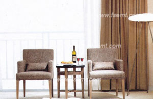 Positionnement de chambre à coucher en bois d'hôtel de modèle simple (EMT-B0904)