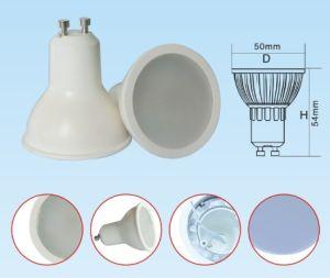 PlastikCoated Aluminum 7W COB LED Spot Light