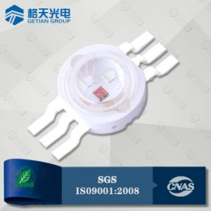 precio de fábrica de la competencia de 6 polos de alta potencia LED RGB de 3 W