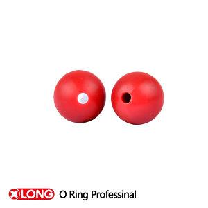 Rote NBR Körper-Kugel des Hochleistungs--