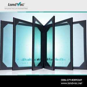 LandvacのBIPVのための卸し売り低炭素の緩和された真空ガラス