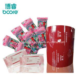 フィルム自動機械プラスチックペットぬれたワイプのための包装ロールフィルムを包む赤ん坊の毎日の使用のぬれたワイプ