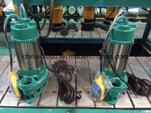 V Serise Edelstahl-Abwasser-versenkbare Wasser-Pumpe, schmutzige Wasser-Pumpe