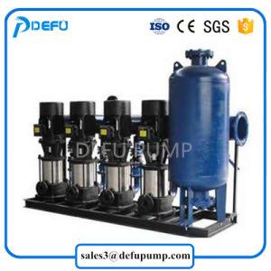 수직 압력 탱크를 가진 건물 물 공급 장비 승압기 다단식 펌프