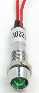 Индикаторная лампа сигнала тревоги автомобиля в печи, 12 вольт светодиодных индикатора (XD8-1W)