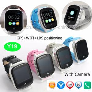 3G/WCDMA adultos Rastreador GPS assistir com a câmara 3.0 Y19