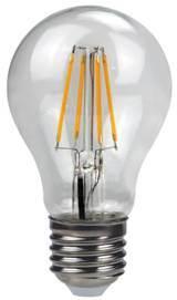 LED gloeidraad Light A60-Cog 6W 600lm E27 4PCS gloeidraad