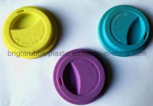 Tapa de silicio de grado de la FDA para el Cup