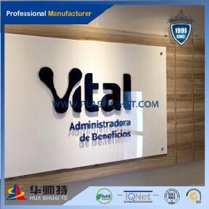 Het plastic Teken van het Bedrijf van de Goede Kwaliteit van Producten Acryl