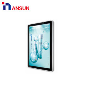 조경 50의 55 인치에 있는 실내 인조 인간 4G WiFi USB 디지털 Signage 벽 LCD 위원회