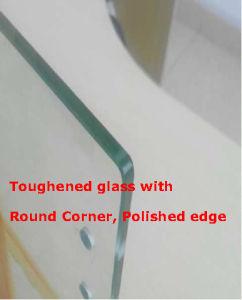 Barandilla de vidrio laminado sin cerco