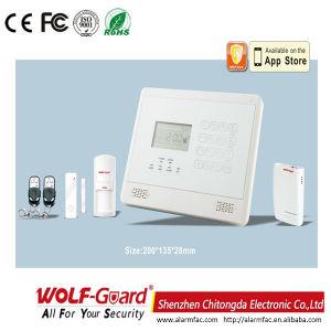 iPhone&Android APPが付いているWolfguard GSMのホームセキュリティーの防犯ベル