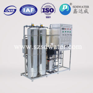 Impianto di per il trattamento dell'acqua industriale del RO della fabbrica dell'acqua