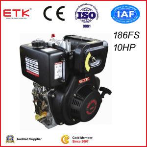 CE /Air-Cooled (ETK186FS del motore diesel (E))