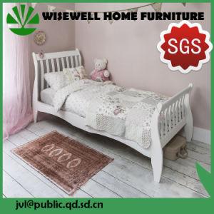 Base della stecca della slitta della camera da letto di legno di pino nel singolo formato