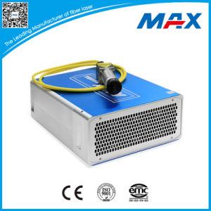 Q-schakelaar 50W de Gepulseerde die Laser van de Vezel wijd in Industriële de Verwerking van het Metaal wordt gebruikt