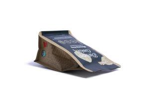 Personalizar el embalaje flexible de la bolsa de fondo plano.