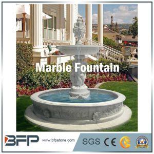 De marmeren Materiële Witte Marmeren Fontein van het Water