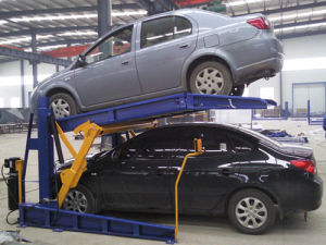 2つのポストの油圧モードの標準駐車上昇の/Doubleスタック駐車システム