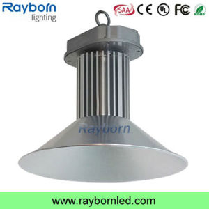 Taller de plata o negro 100W 120W Bridgelux LED de luz de la Bahía de alta