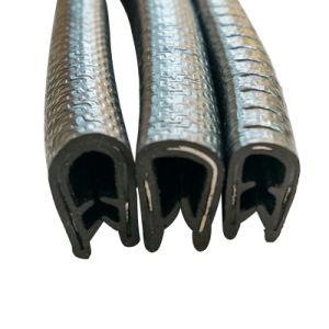 Personalizable con forma de U Guarnecido de borde de la puerta de coche Tira de sellado de PVC de la junta de goma