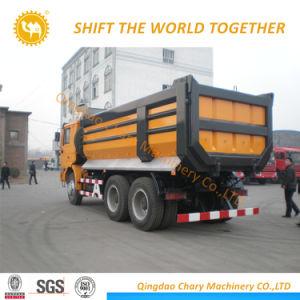 Autocarro con cassone ribaltabile di estrazione mineraria dell'autocarro a cassone di Shacman 6X4