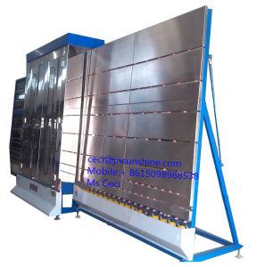 Автоматическая низкий E вертикальной плоское стекло мойка стекол и сухой машины/осушителя и омывателя стекла машины
