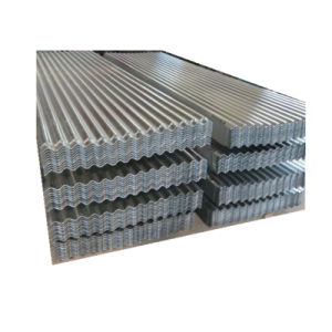 Strato d'acciaio ondulato galvanizzato del tetto del TUFFO caldo di ASTM A653