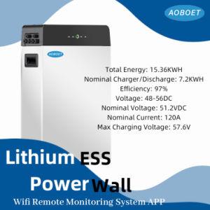 Fonte de alimentação de bateria de 48 V 300 a LiFePO4 de 15 kW para energia solar/ Sistema de energia eólica